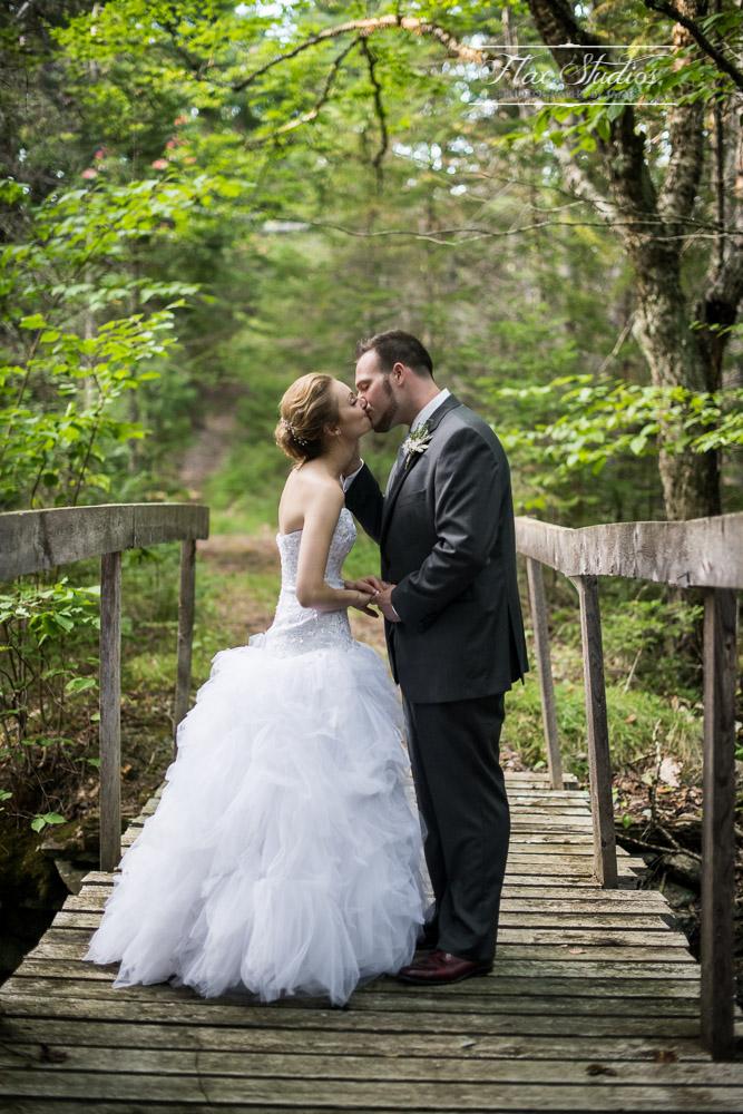 Rustic Bridge Wedding Photos