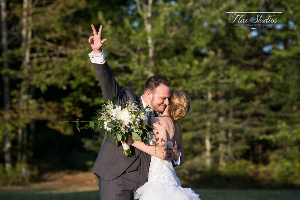 Wedding entrance photo Flax Studios