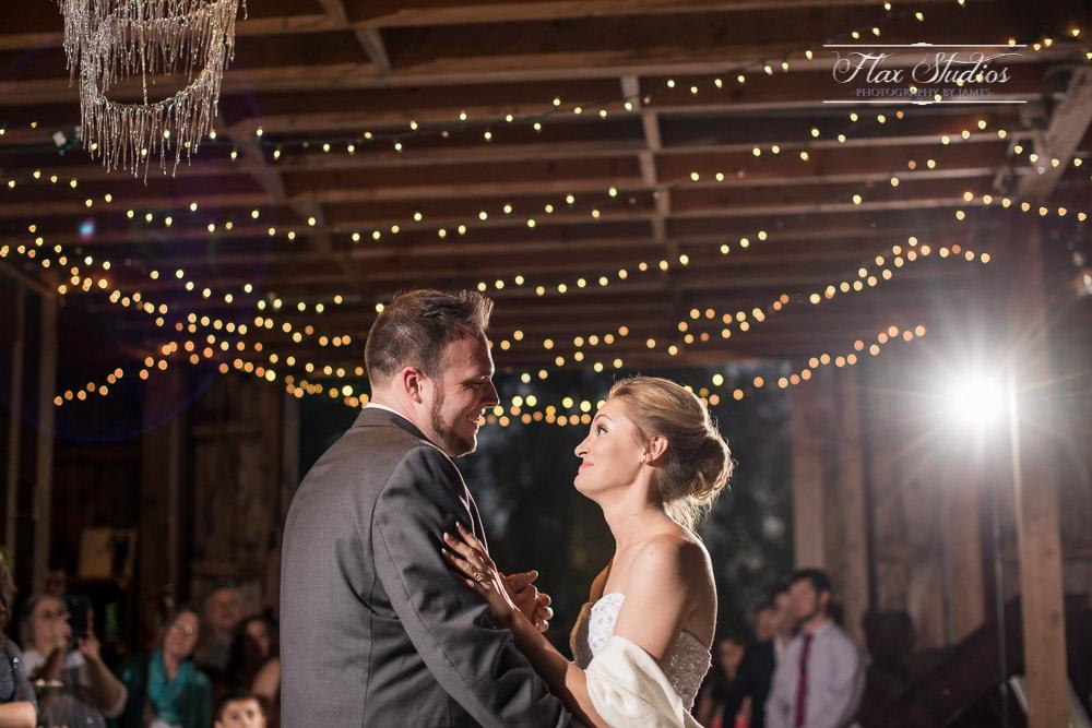 First Dance Blue Hill Wedding