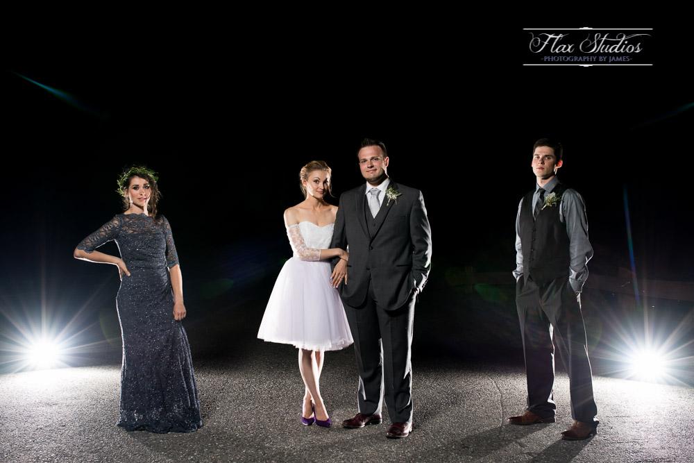 Off Camera Flash Wedding Portraits Flax Studios