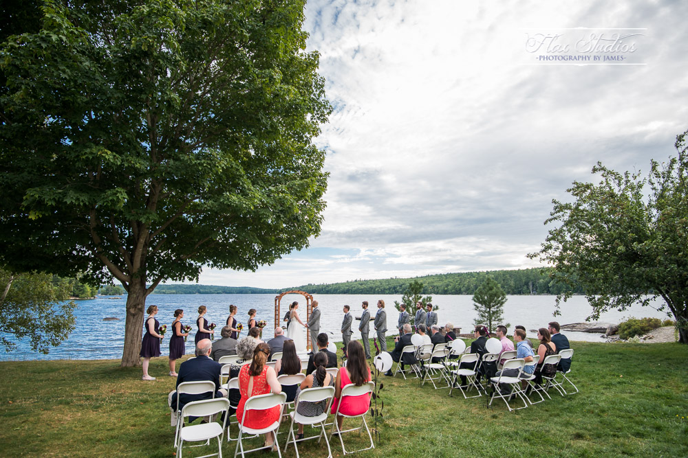 Alamoosook Wedding Ceremony Flax Studios
