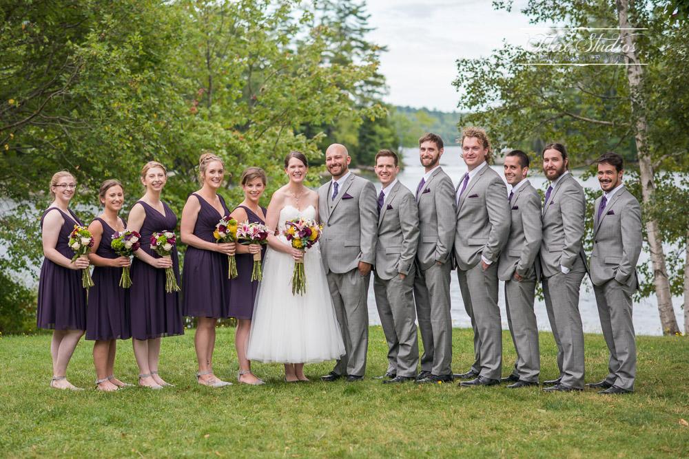 Alamoosook Bridal Party Portraits