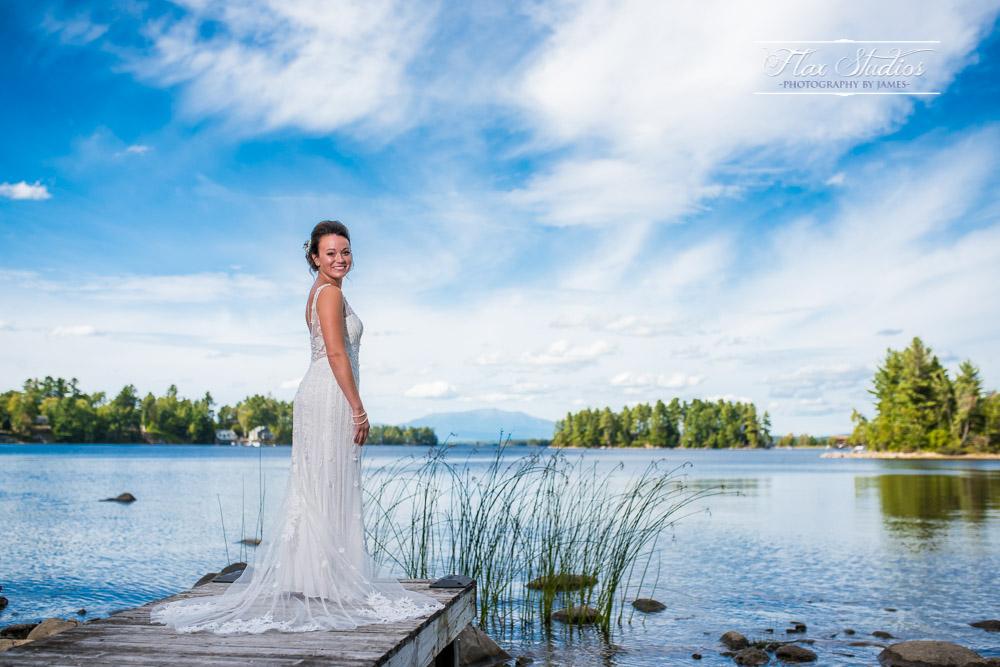 Bridal Portrait 5 Lakes Lodge