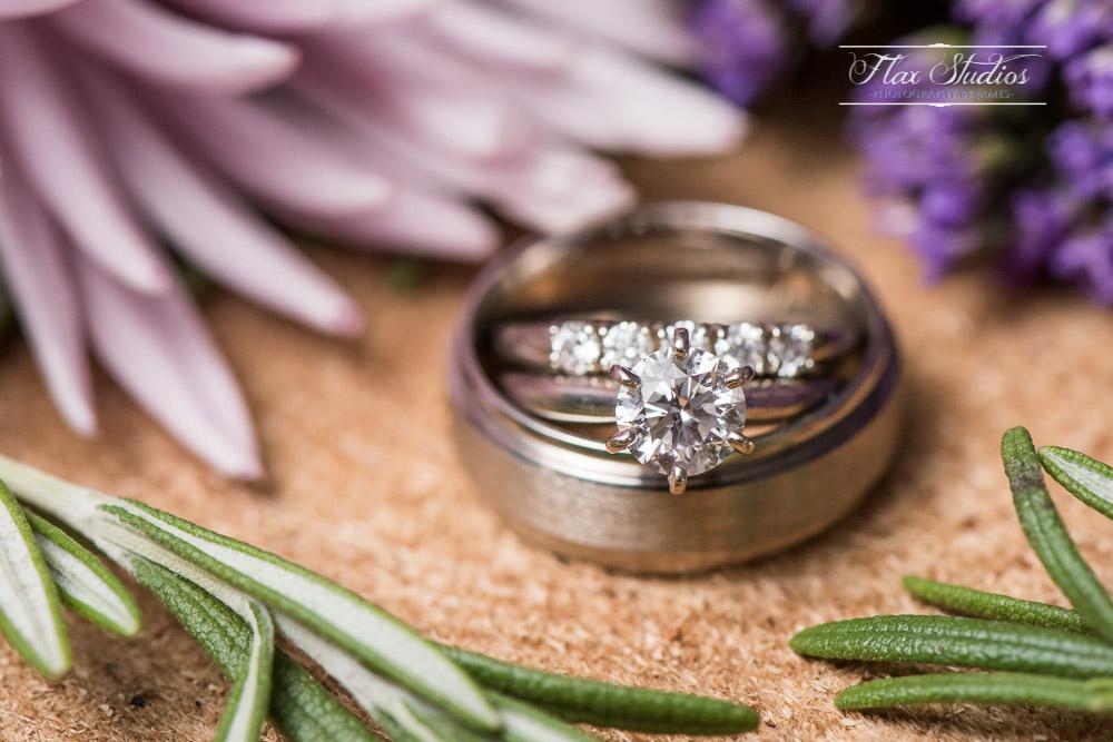 Wedding Ring Close Up Detail Shots