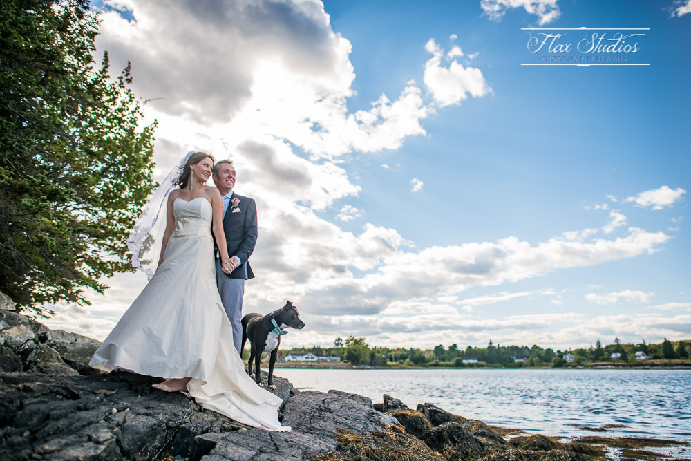 Blueberry Cove Wedding Photographer Flax Studios