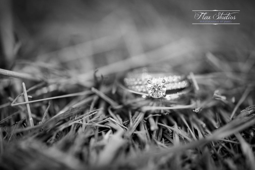 Wedding ring macro shots