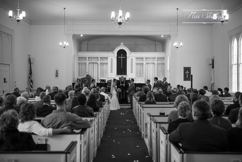 The West Parish Congregational Church Wedding
