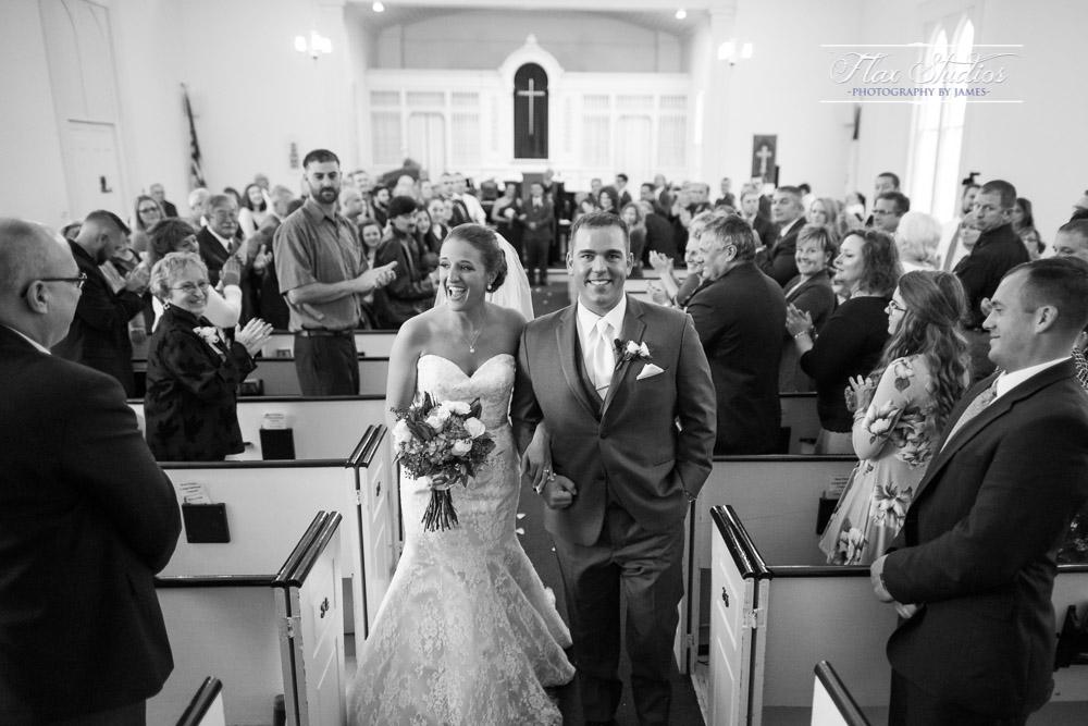 The West Parish Congregational Church Wedding Photographers