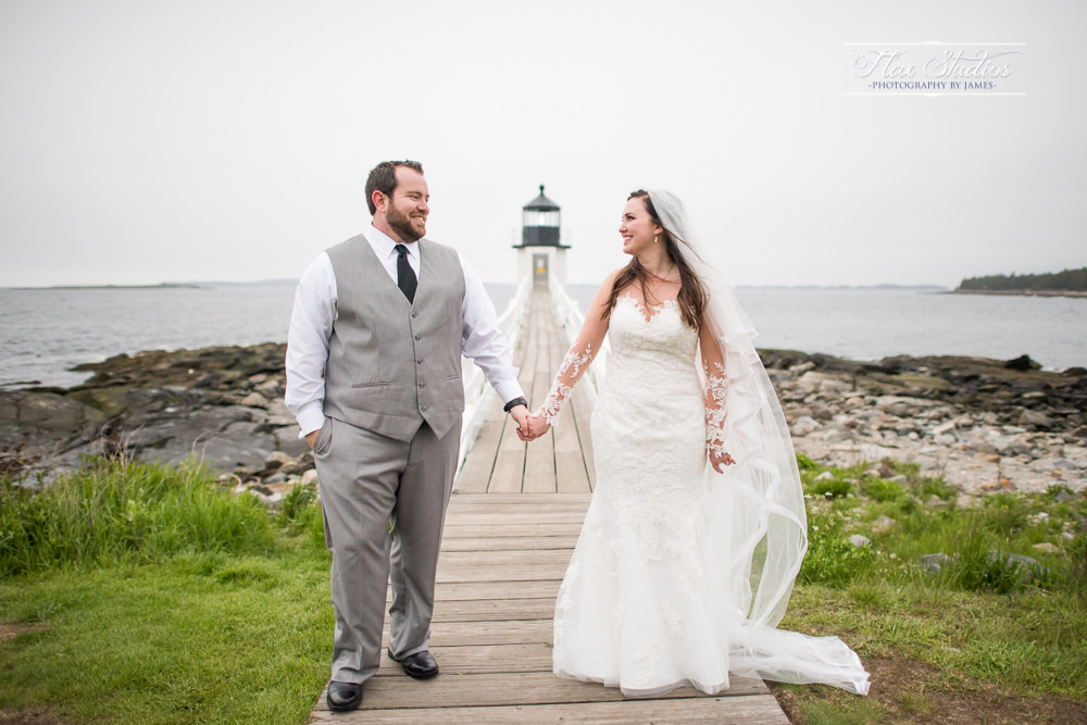 Maine Wedding Photography Flax Studios Port Clyde Lighthouse