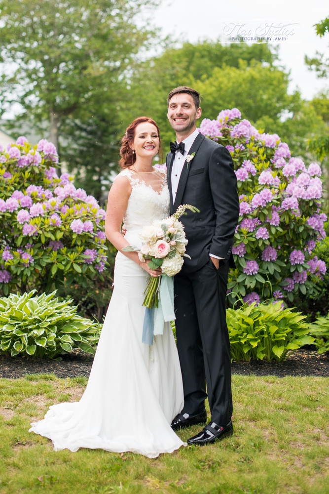 Full body wedding portrait