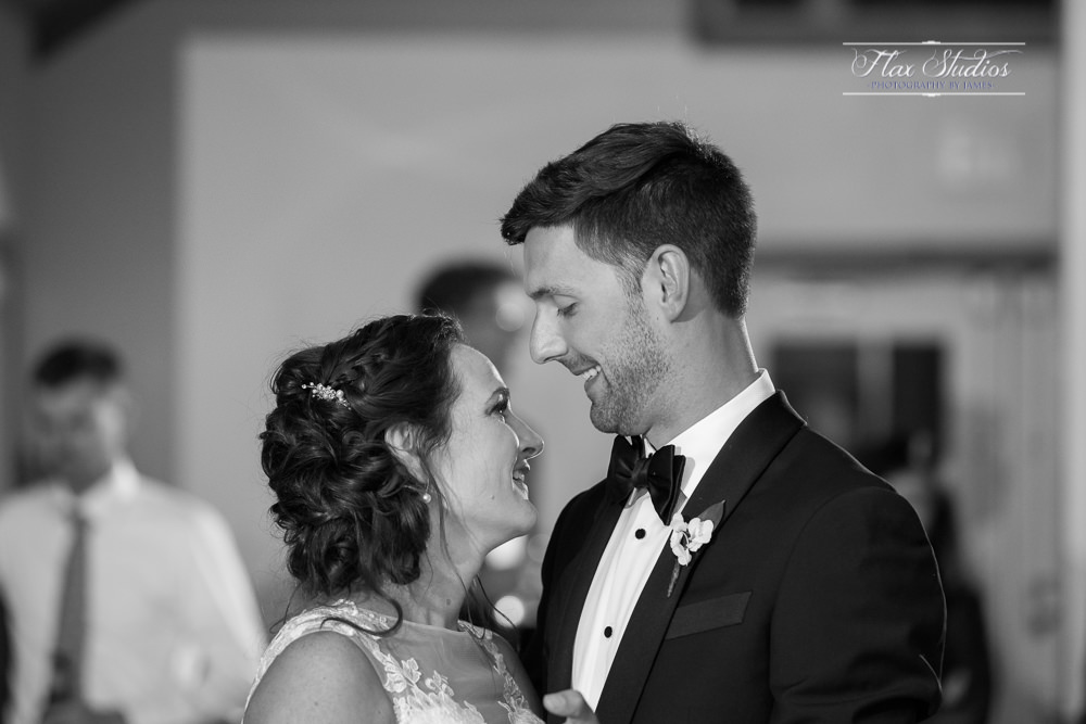 First dance photo black and white photography