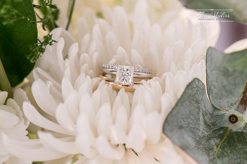 Wedding rings macro shot