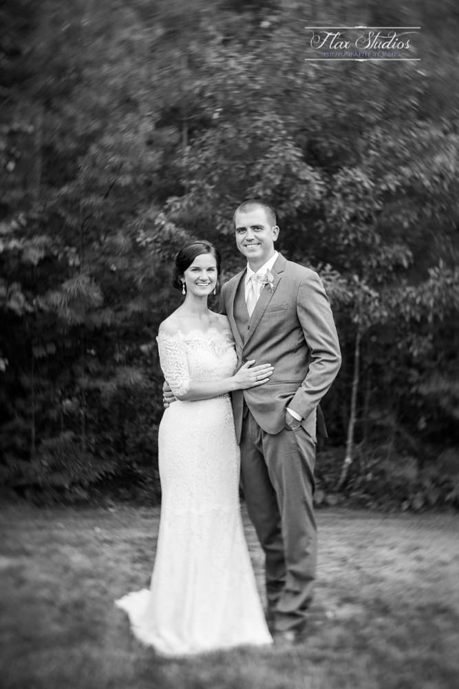 black and white vintage wedding photo looks petzval 58mm