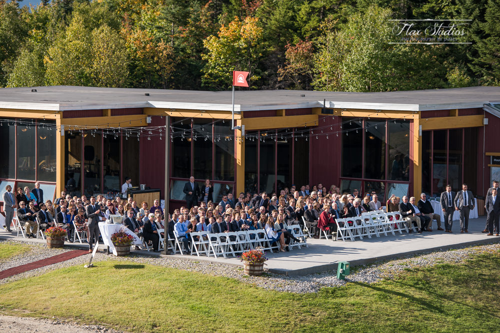 North Peak Lodge Wedding Ceremony Space