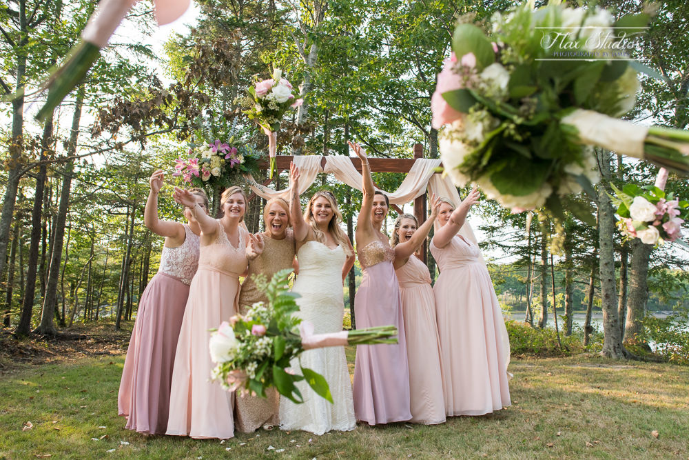 fun wedding photo ideas Flax Studios Maine Weddings