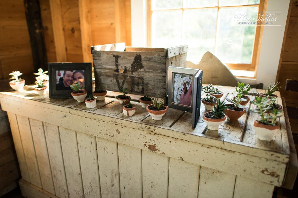 Handmade wedding favors