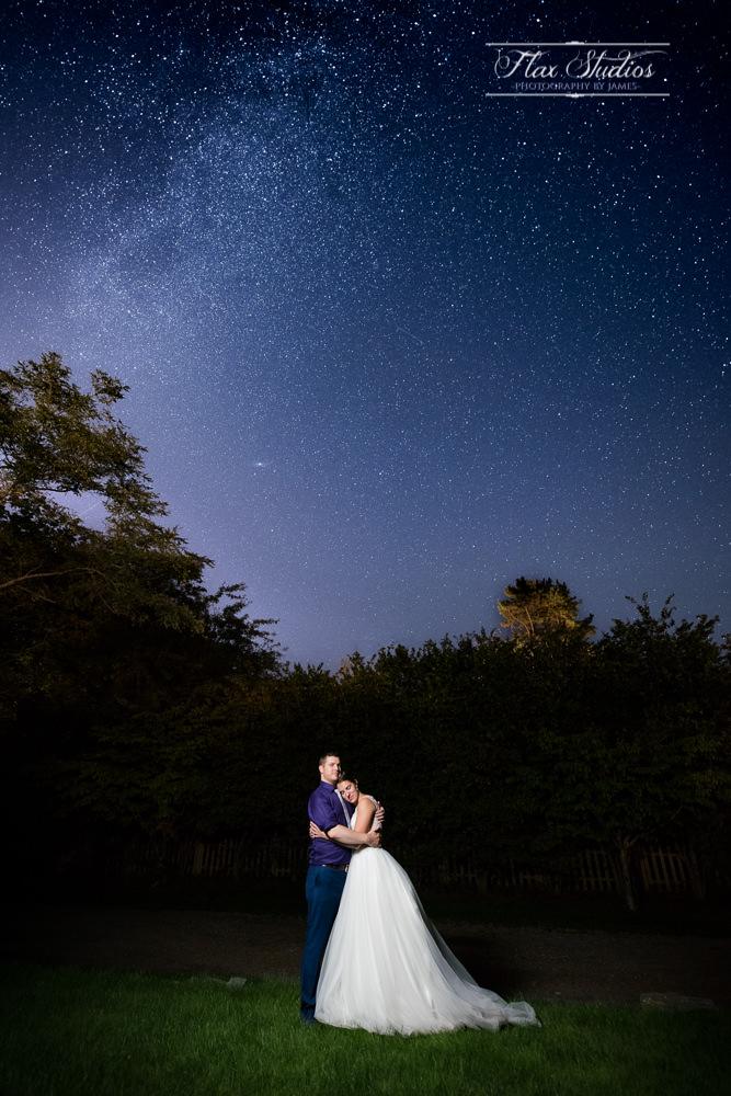 Wedding Astrophotography Flax Studios Maine Weddings