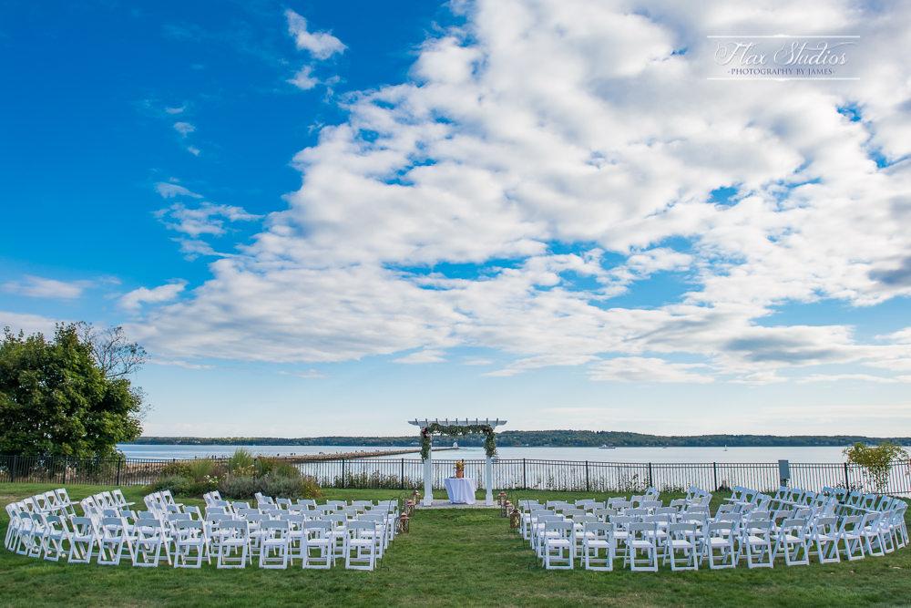 Samoset Resort Wedding Ceremony Site