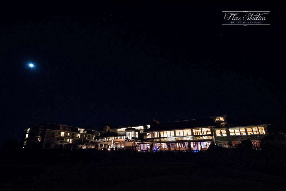 Samoset Resort at night