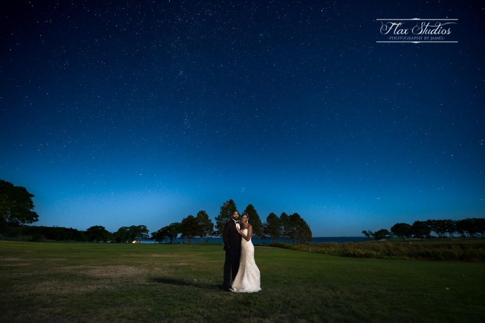 Maine wedding portraits under the stars flax studios
