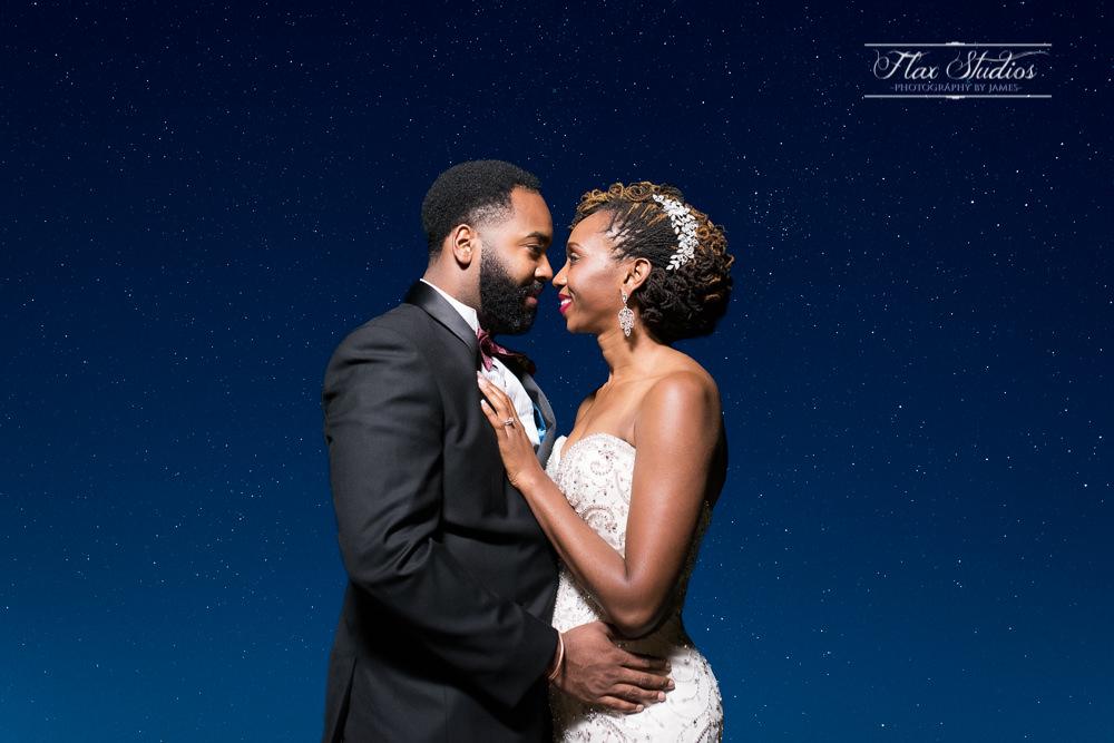 Maine Wedding Astrophotography by Flax Studios