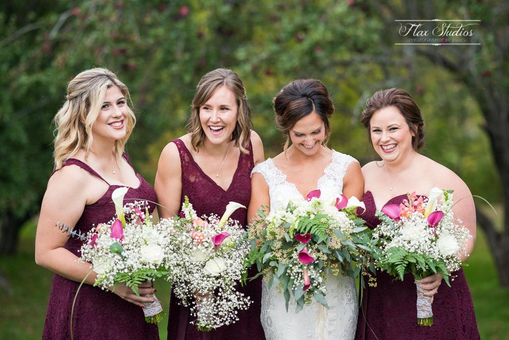 cute bridesmaid photos flax studios