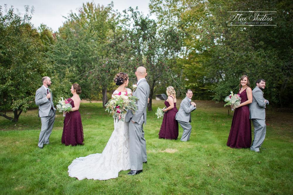 Funny bridal party photos