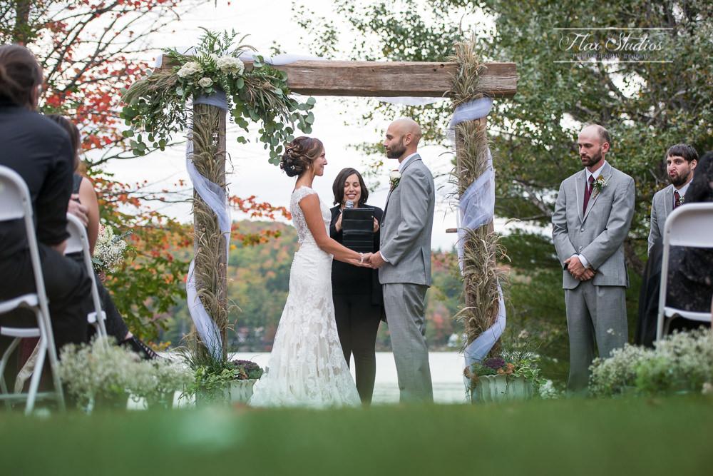 worthley pond wedding ceremony