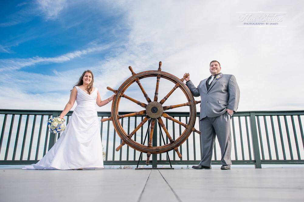 Point Lookout Resort Captain's Helm Wheel