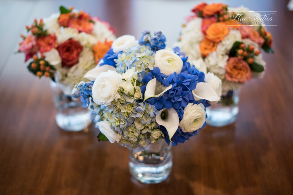 colorful wedding flower bouquets