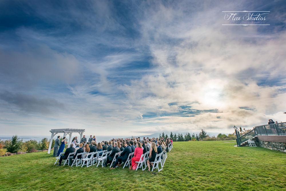 Point Lookout Resort Wedding views