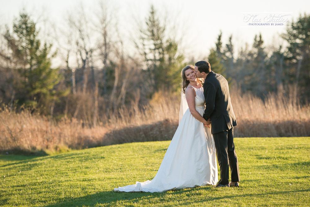 Morgan Hill Event Center Wedding Portraits at sunset