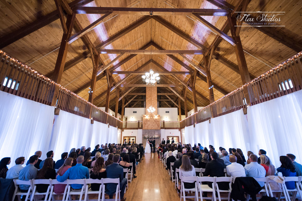wide angle view from inside Morgan Hill Event Center
