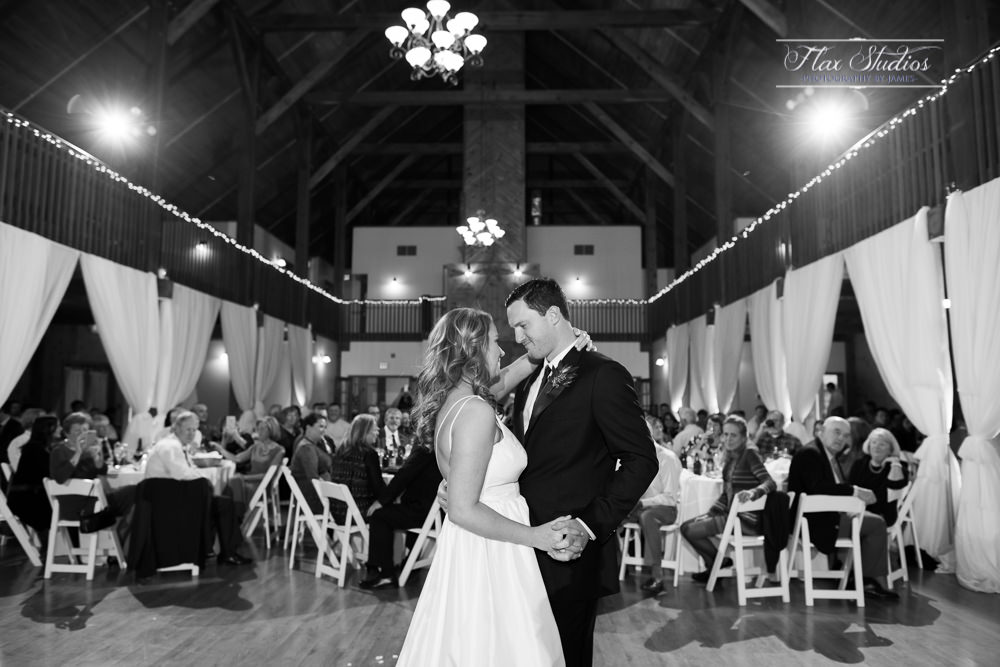 black and white first dance photo Morgan Hill