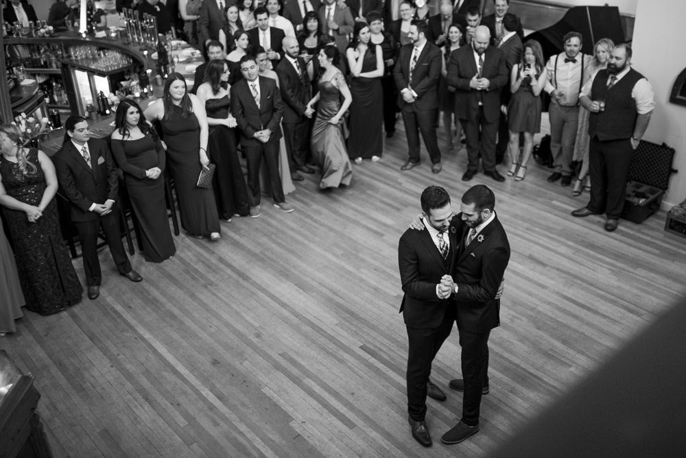 intimate first dance photos in black and white