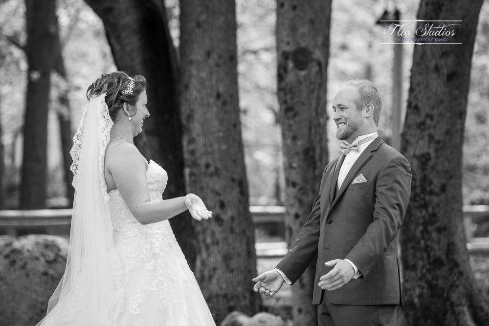 First look reactions ME weddings