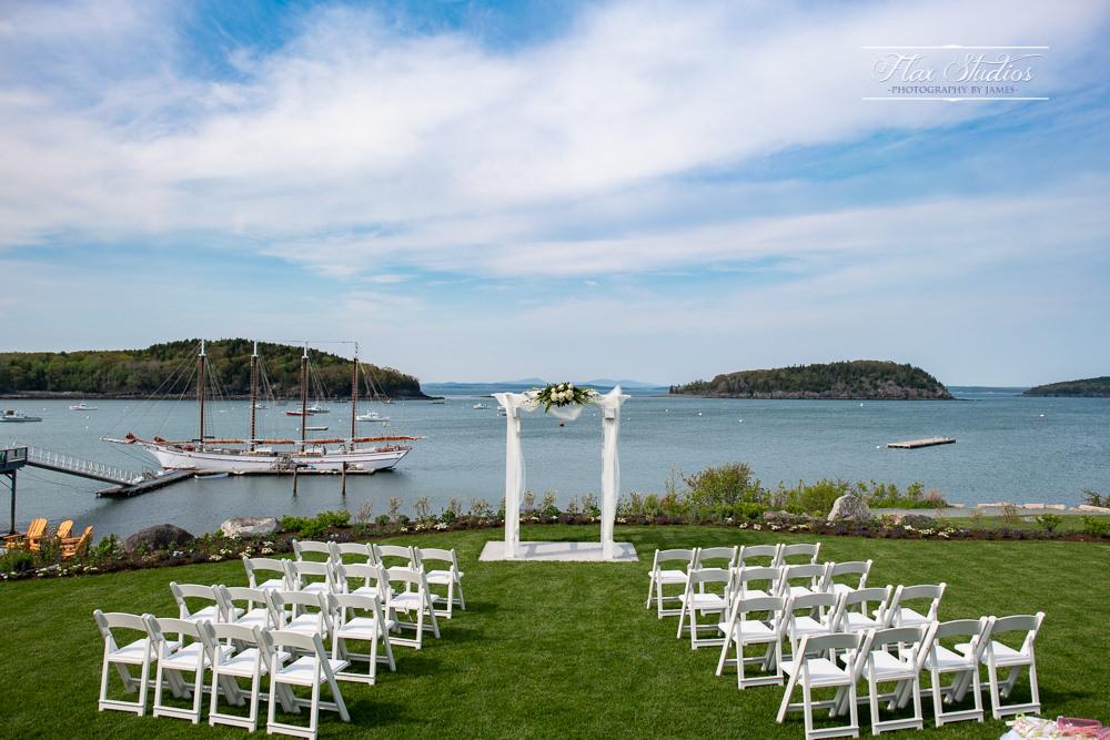Bar Harbor Inn Outdoor Ceremony Site