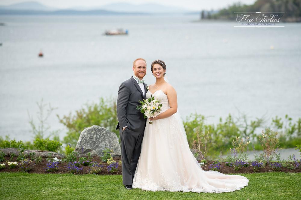 Bar Harbor Inn Wedding Portrait