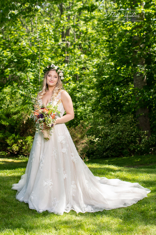 Castine Maine Bridal Portraits