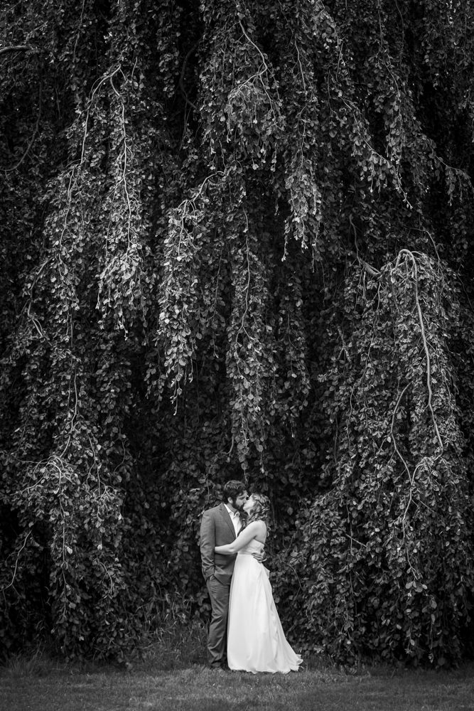 Castine Maine Weddings Flax Studios black and white