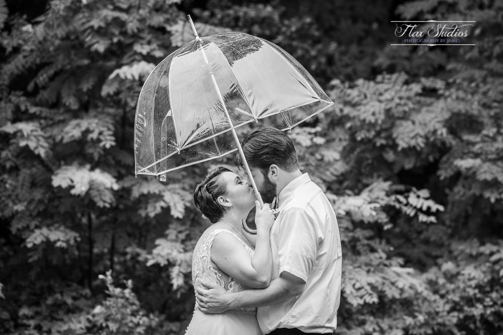 black and white romantic rain photos