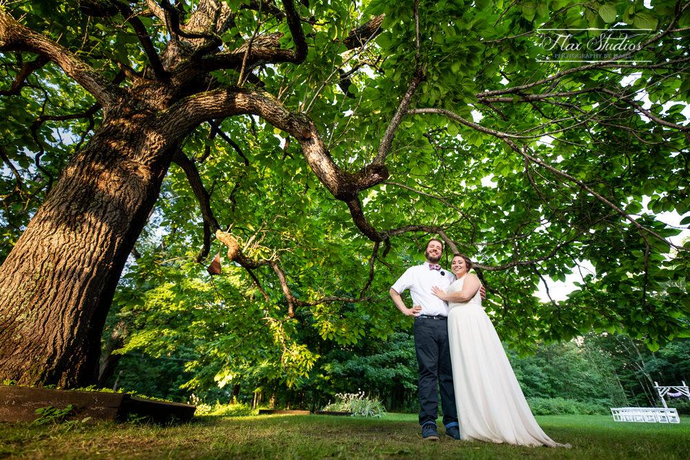 Caswell Farm Maine Rustic Wedding Flax Studios