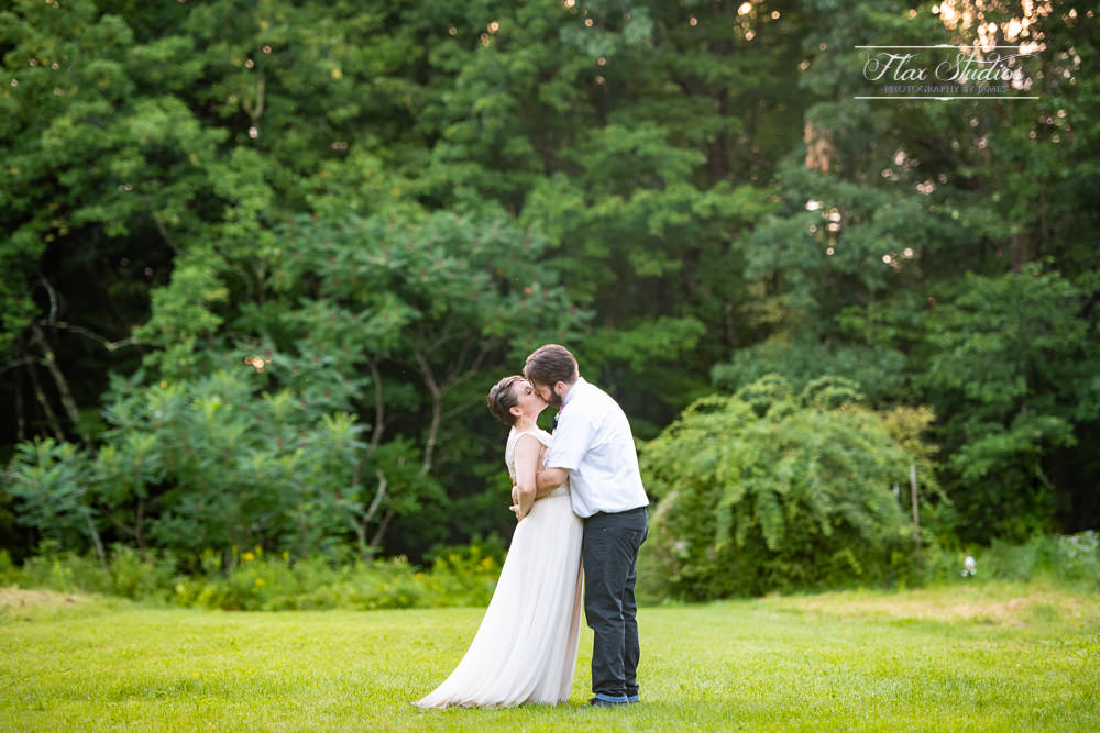 romantic maine wedding photographers