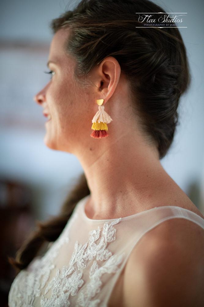 wedding day earrings