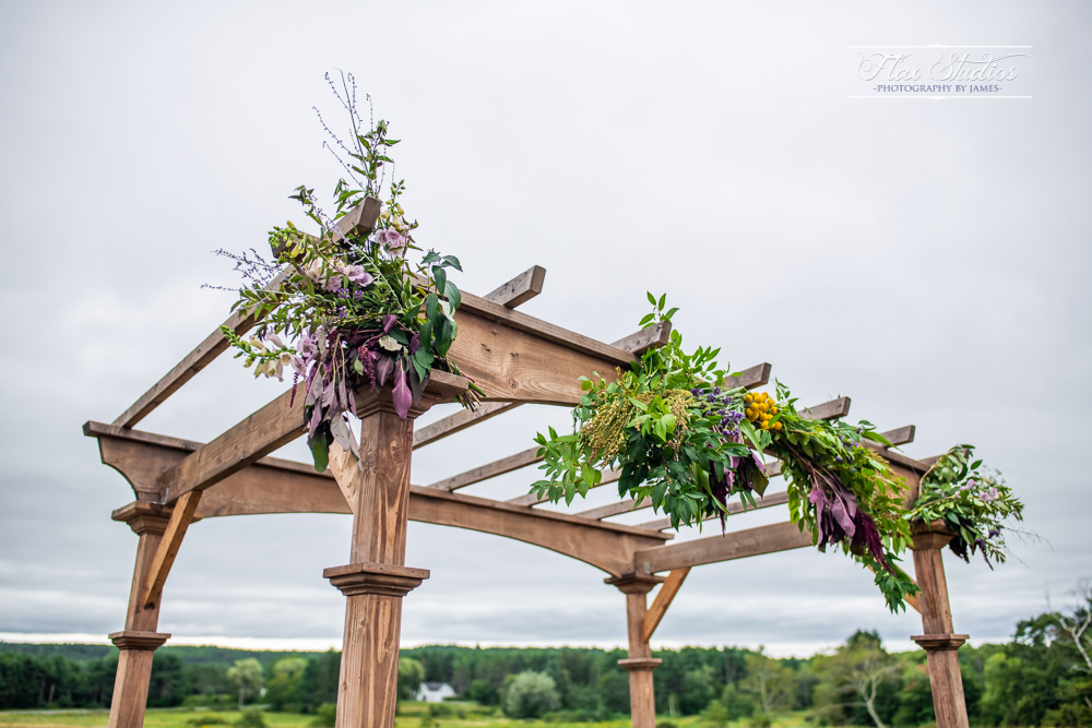 harmony hill wedding arbor