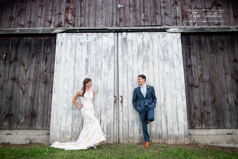 Maine Barn Wedding Flax Studios
