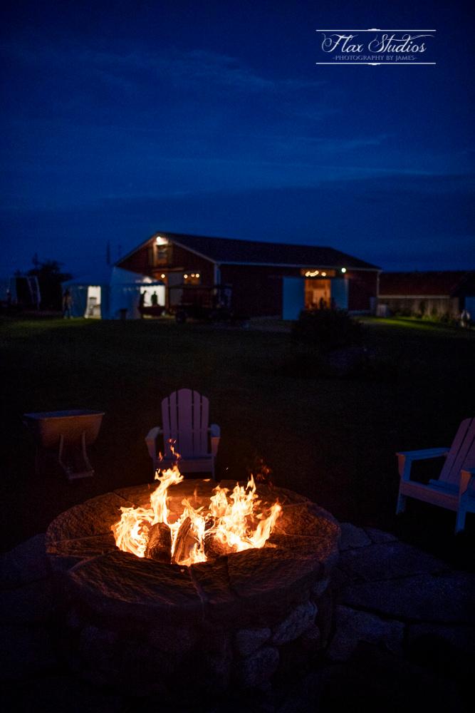 summer fire pit