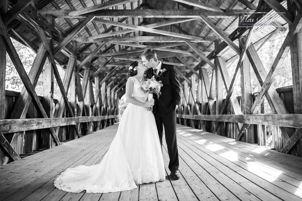 Sunday River Covered Bridge Wedding Flax Studios