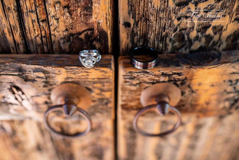 rustic wedding ring ideas