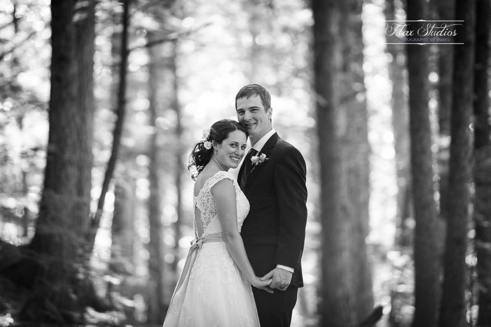 Rustic wedding in the forest